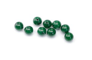 pearl mashan dark green jade tints 8mm x1fil