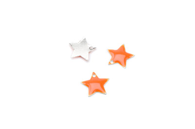 enameled star