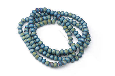 faceted round bead 3mm