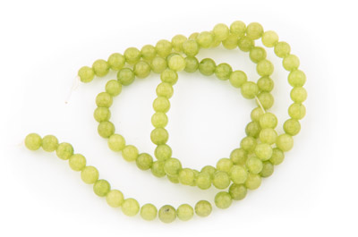 jade bead round 4mm