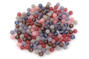 bead mix rund 7mm 100g