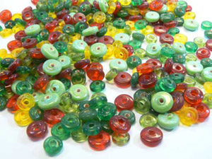 bead mix disk 7mm 100gr
