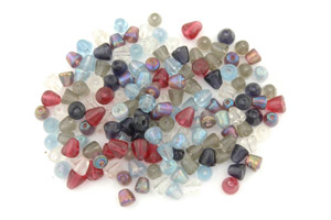 bead mix pyramid 8mm 100g