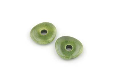 connector 18mm olive green x25pcs