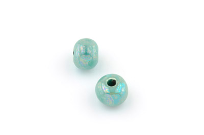 bead 12mm aqua x20pcs