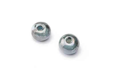 bead 12mm blue grey x20pcs