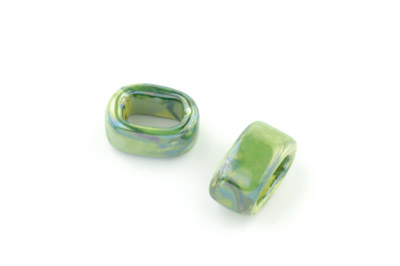 tube 10*19mm green x25pcs