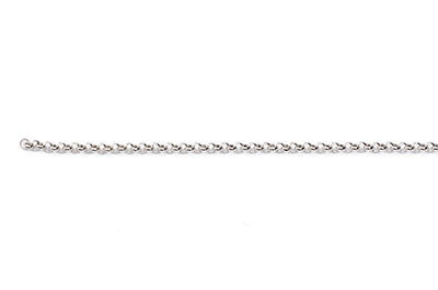 round chain 2mm antique silver x1mtr