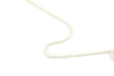 chain ball 2mm silver color x1m