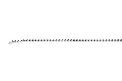 1.5mm antique silver ball chain x1mtr