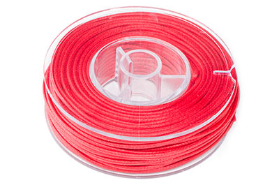 red cotton thread 1.5mm 20m x1pce coil