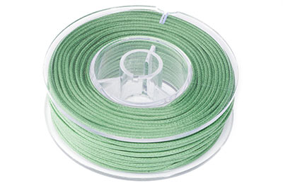 olive green cotton thread 1,5mm 20m x1pce coil