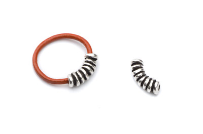 ending ring for leather 2mm 5x16mm x10pcs