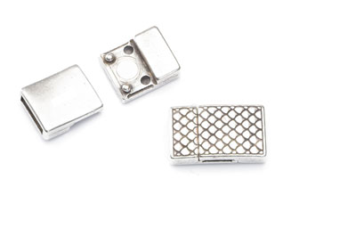 magnetic clasp 22x13mm for strap 10mm x3pcs