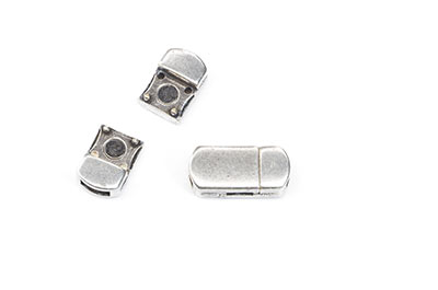 magnetic clasp 19x9mm for strap 5mm x4pcs
