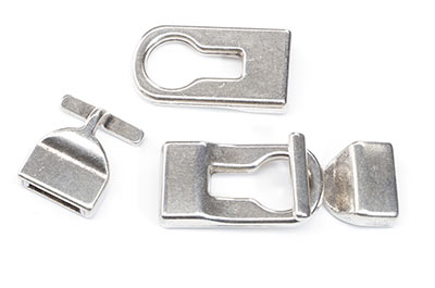 clasp T 45x17mm for strap 10mm x4pcs