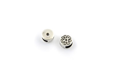 slider bead round 10mm x20pcs