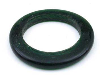 ring dark green shiny 58mm 300g