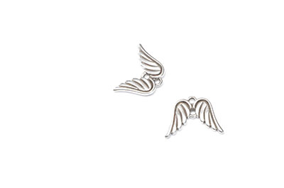 2 holes angel wing connector 12x16mm x16pcs