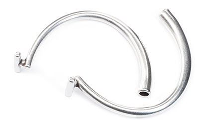 half bar bracelet for cord 4mm x3pcs