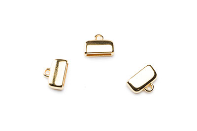 tip 13x10mm for strap 10mm x8pcs