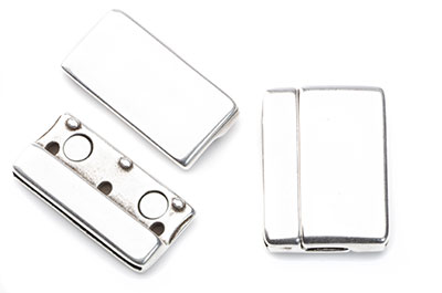 magnetic clasp 23x32mm for flat band 30mm x2pcs