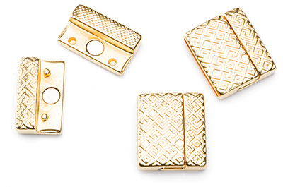 magnetic clasp 20x22mm for strap 20mm x2pcs
