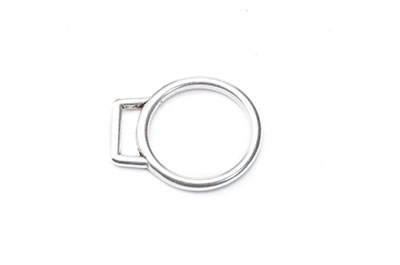 round end cap 25mm for lanyard 10mm x8pcs
