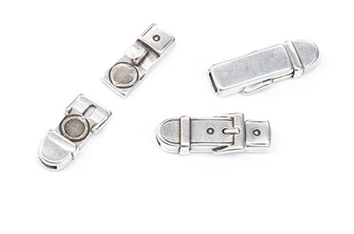 magnetic clasp belt 26x10mm for lanyard 5mm x4pcs