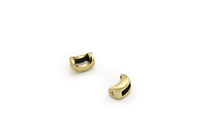 slider moon 11x6mm bronze x30pcs
