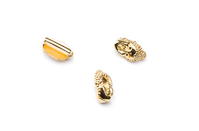 passing buddha 19x9mm gold color for thong 10mm x10pcs