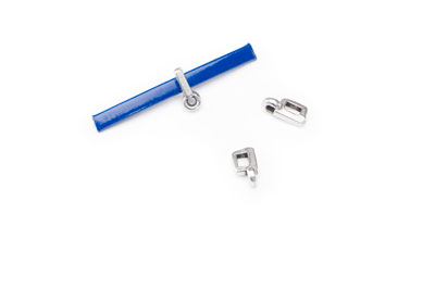 slider 9x4mm with pendant holder for 3mm flat band x30pcs
