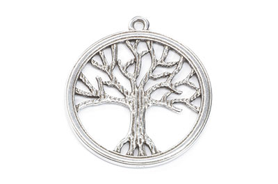 tree of life pendant 43mm x4pcs