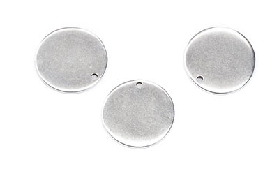disc pendant 22mm x8pcs