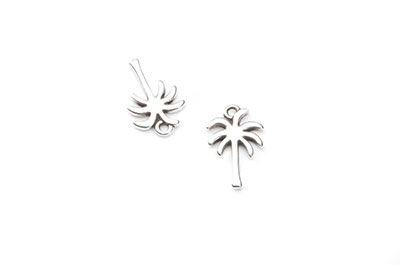 Pendants palm tree19x12mm x20pcs