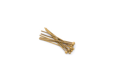 brass ballpin 25mm antic bronze color x250pcs