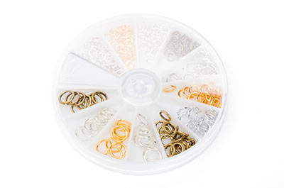 brass rings 224 pcs/kit x1pcs