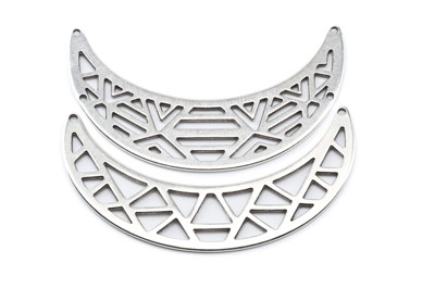 bars for necklace 64x19mm and 64x17mm x6pcs