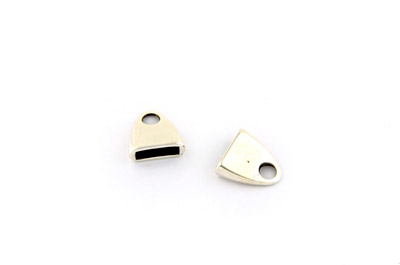 flat end 13mm for cord x20pcs