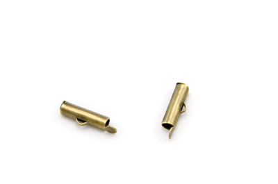 tube terminator 16x4mm bronze x30pcs