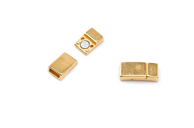 magnetic clasp 17x8mm hole: 6x2mm x10pcs