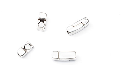 magnetic clasp 16x6mm for thong 3mm x5pcs