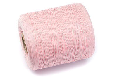 pink polyester thread coil approx 730m x1pce