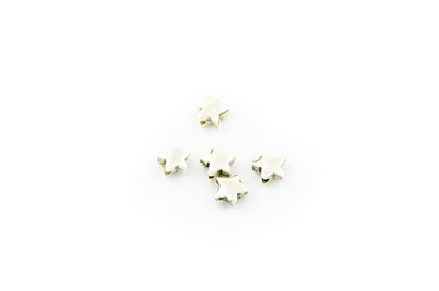 bead small star 7mm x 50pcs