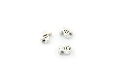 bead fish 9x7mm x50pcs