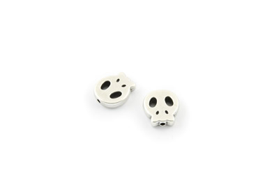 bead skull 15x13mm x25pcs