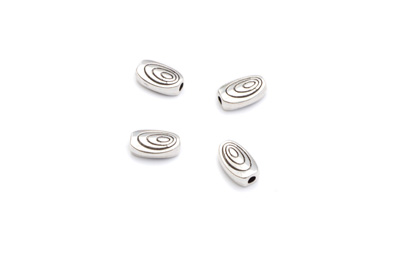 oval bead 6x10mm x30pcs