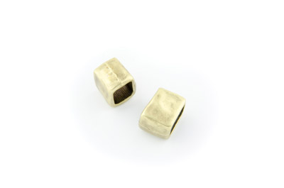 passant rectangle bronze 10*14mm x 12 pcs