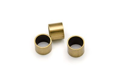 slider tube 10x12mm for climb cord bronze x20pcs