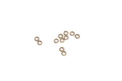 open jumpring 3mm bronze color 500pcs